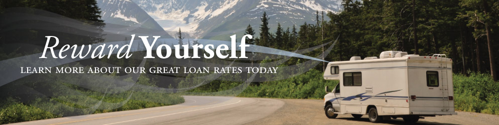 Reward yourself and learn more about our great loan rates today